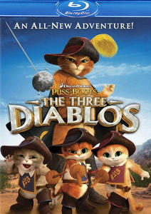 Кот в сапогах: Три Чертенка / Puss in Boots: The Three Diablos (2011) HDRip для PSP
